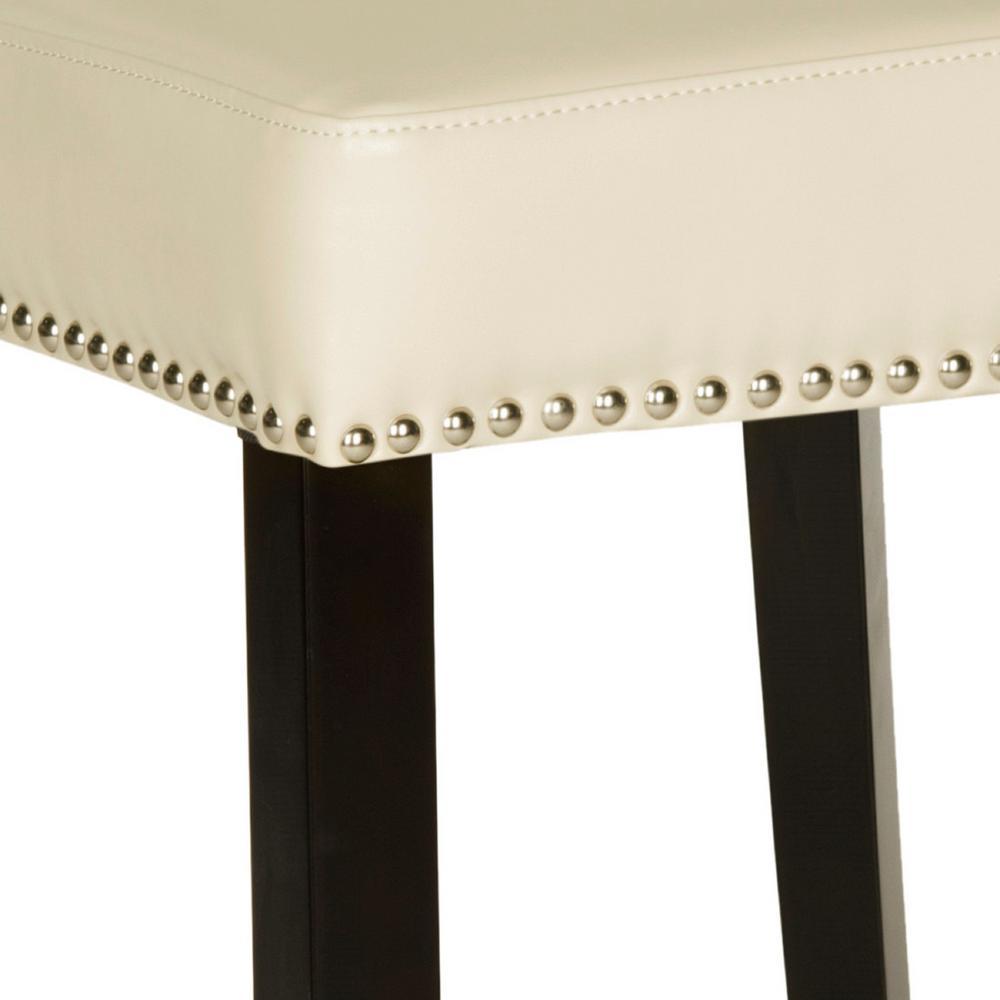 Awe Inspiring Safavieh Addo 25 7 In Flat Cream Cushioned Bar Stool Creativecarmelina Interior Chair Design Creativecarmelinacom
