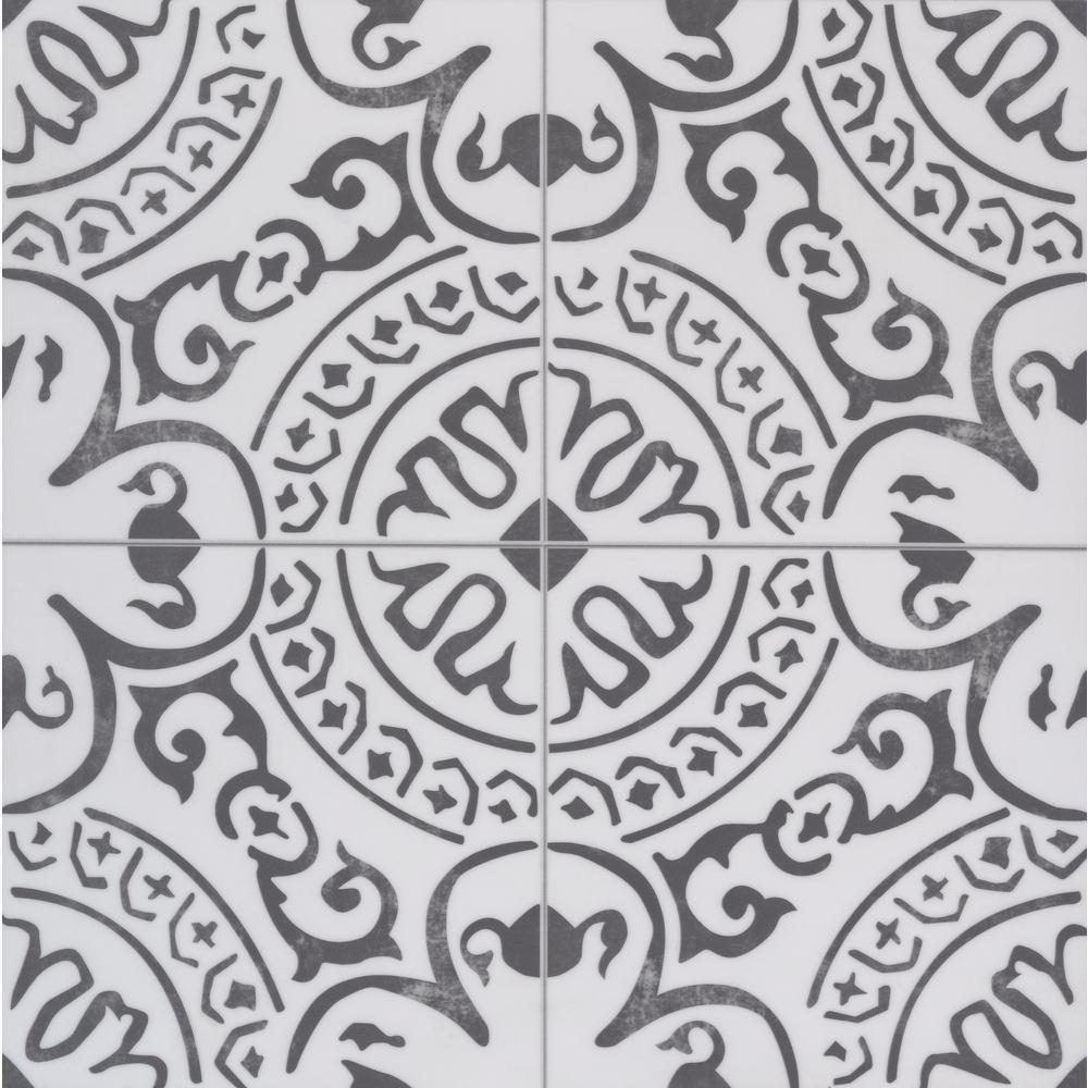 Frosty Shadow 18 in. x 18 in. Luxury Vinyl Tile Flooring (22.76 sq. ft./case)