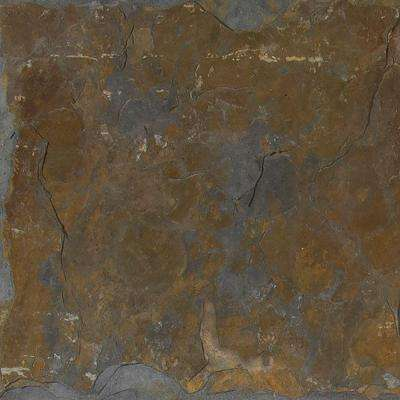 Three Rivers Gold 16 in. x 16 in. Gauged Slate Floor and Wall Tile (8.9 sq. ft. / case)