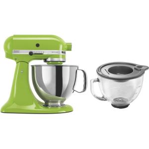 kitchenaid artisan 5 qt green apple stand mixer ksm150psga 3 kit