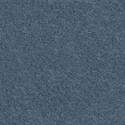 Plume Perfect Peacock Texture 24 in. x 24 in. Carpet Tile (4 Tiles/Case)
