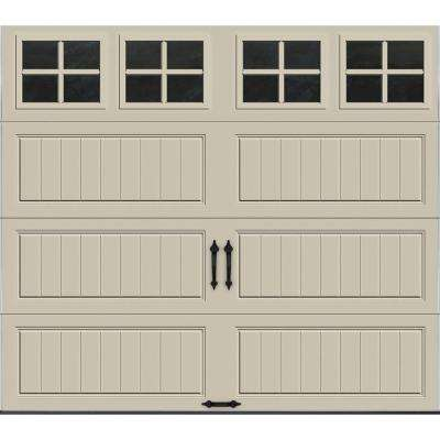 Gallery Collection Insulated Long Panel Garage Door with SQ22 Window