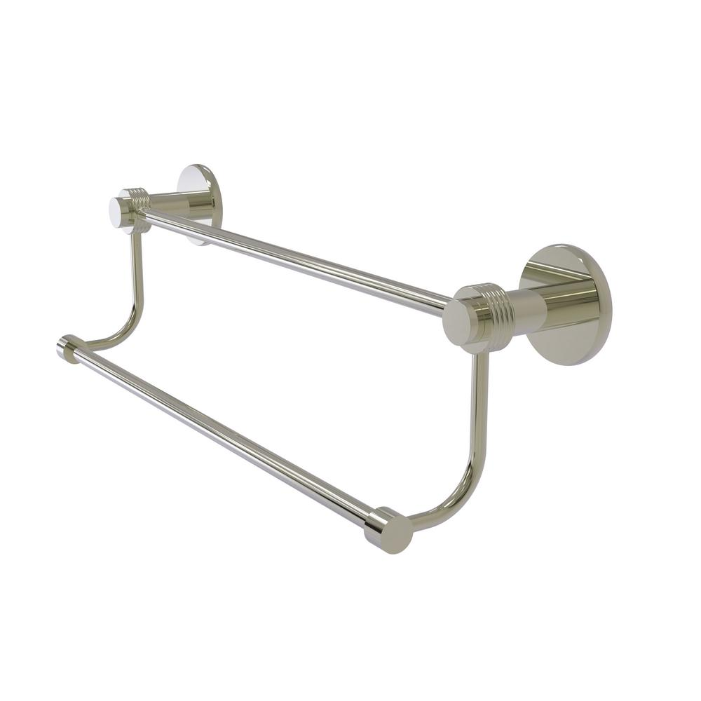 Allied Brass Mercury Collection 30 in. Double Towel Bar w...