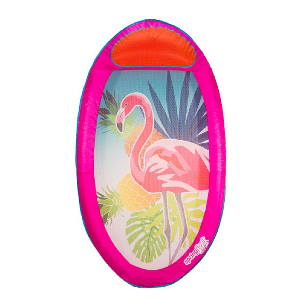 Spring Float Pink Flamingo Pool Lounge 13362 The Home Depot