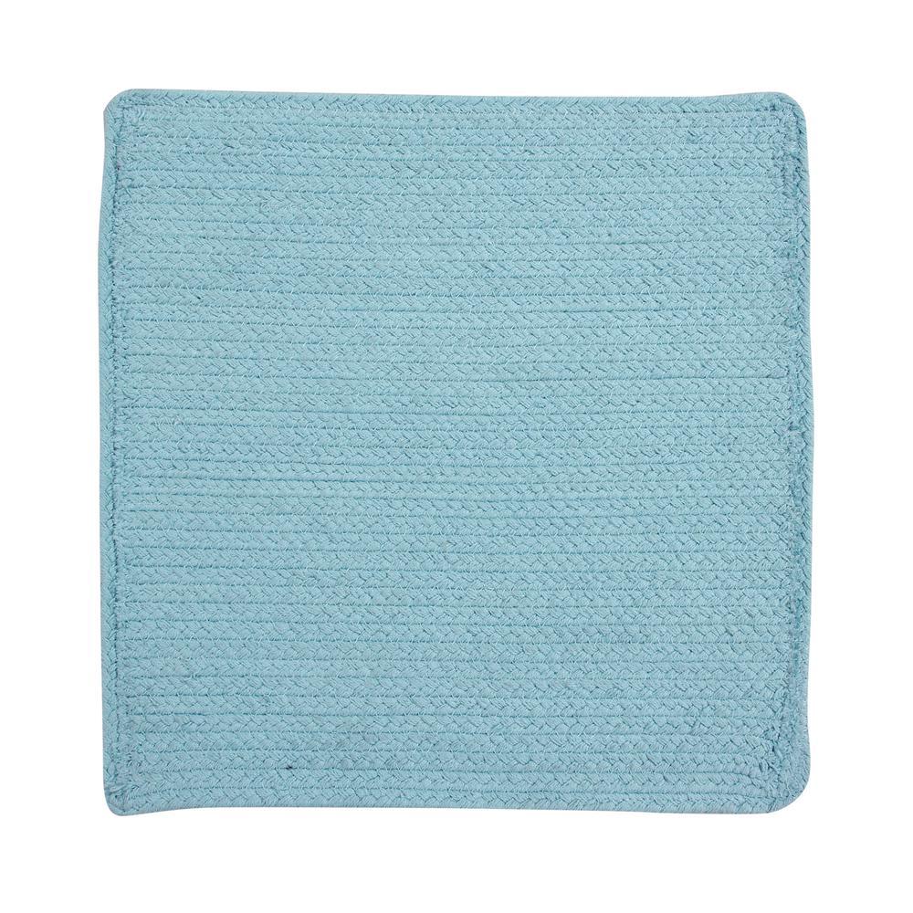 Cotton Solid Aqua Placemats
