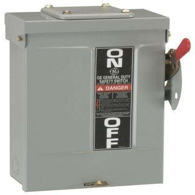 60 Amp 240-Volt Fusible Outdoor General-Duty Safety Switch