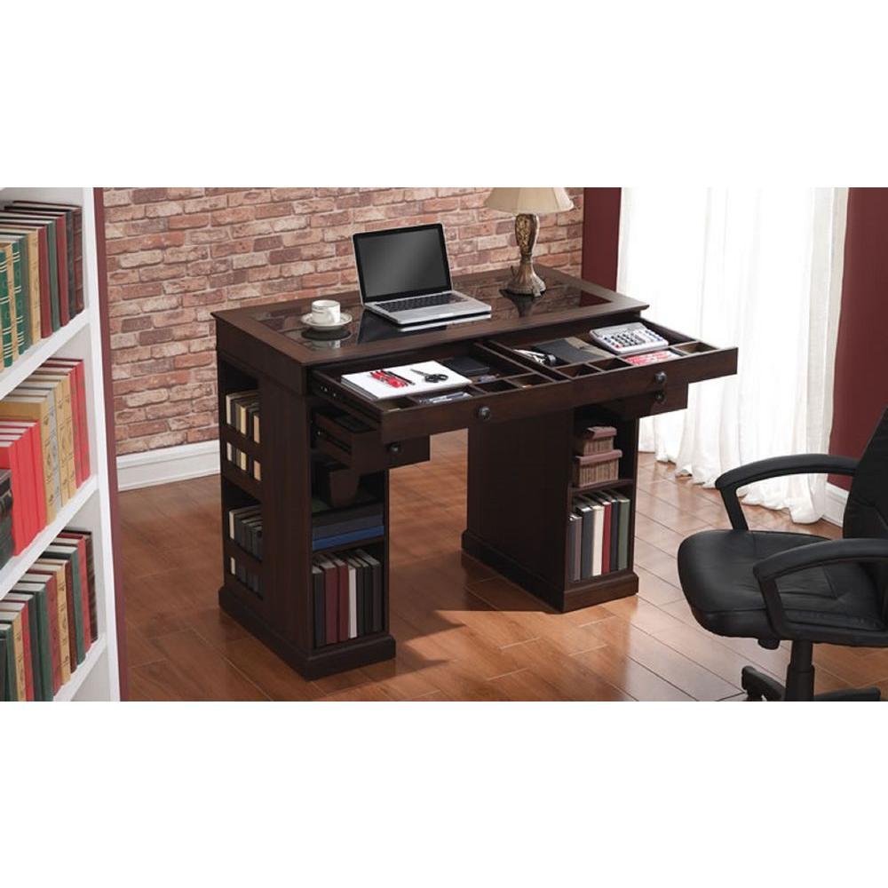 bellu0027o emporia embossed midnight cherry desk