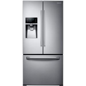 Samsung 33 inch W 25.5 cu. ft. French Door Refrigerator in Stainless Steel by Samsung