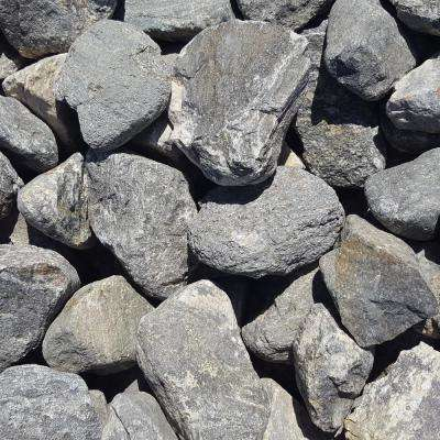 4 in. to 8 in. Sierra Slate Granite Landscaping Cobble (2500 lb. Contractor Pallet)