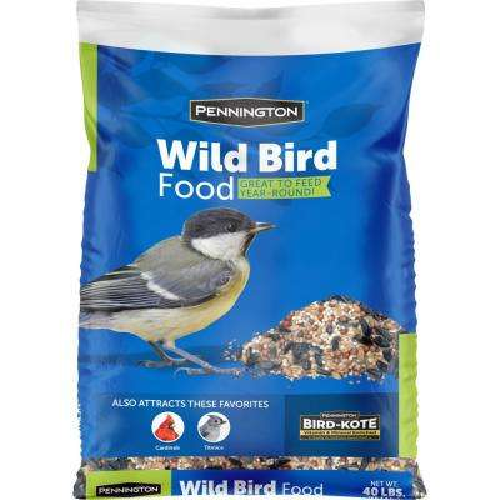 40 lbs. Wild Bird Food