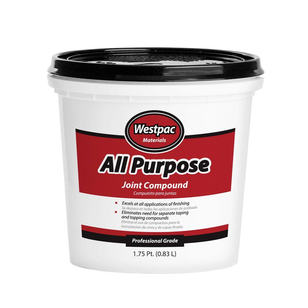 Westpac Materials 1-3/4 Pt. All-Purpose Pre-Mixed Joint Compound