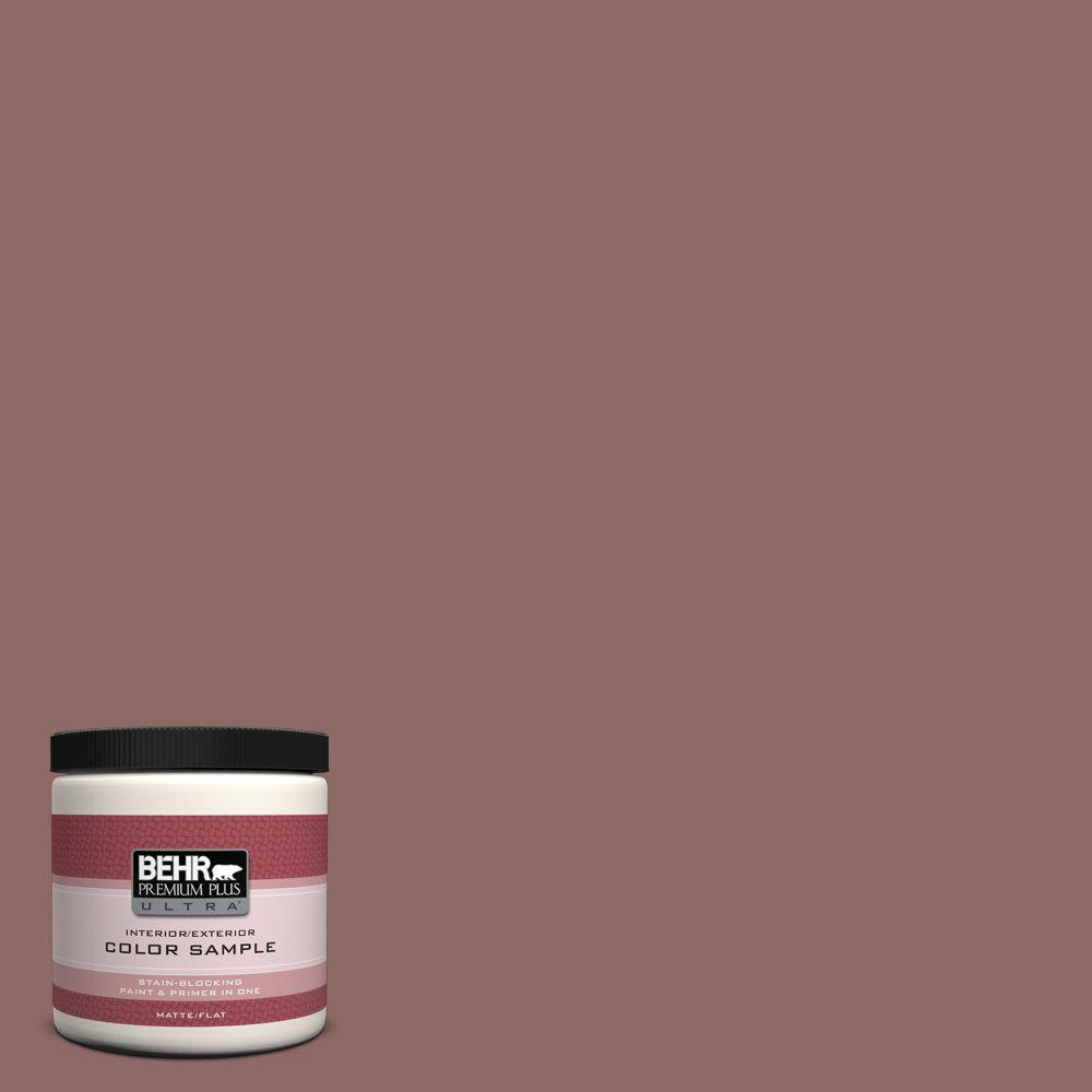 8 oz. #700B-5 Red Stone Interior/Exterior Paint Sample