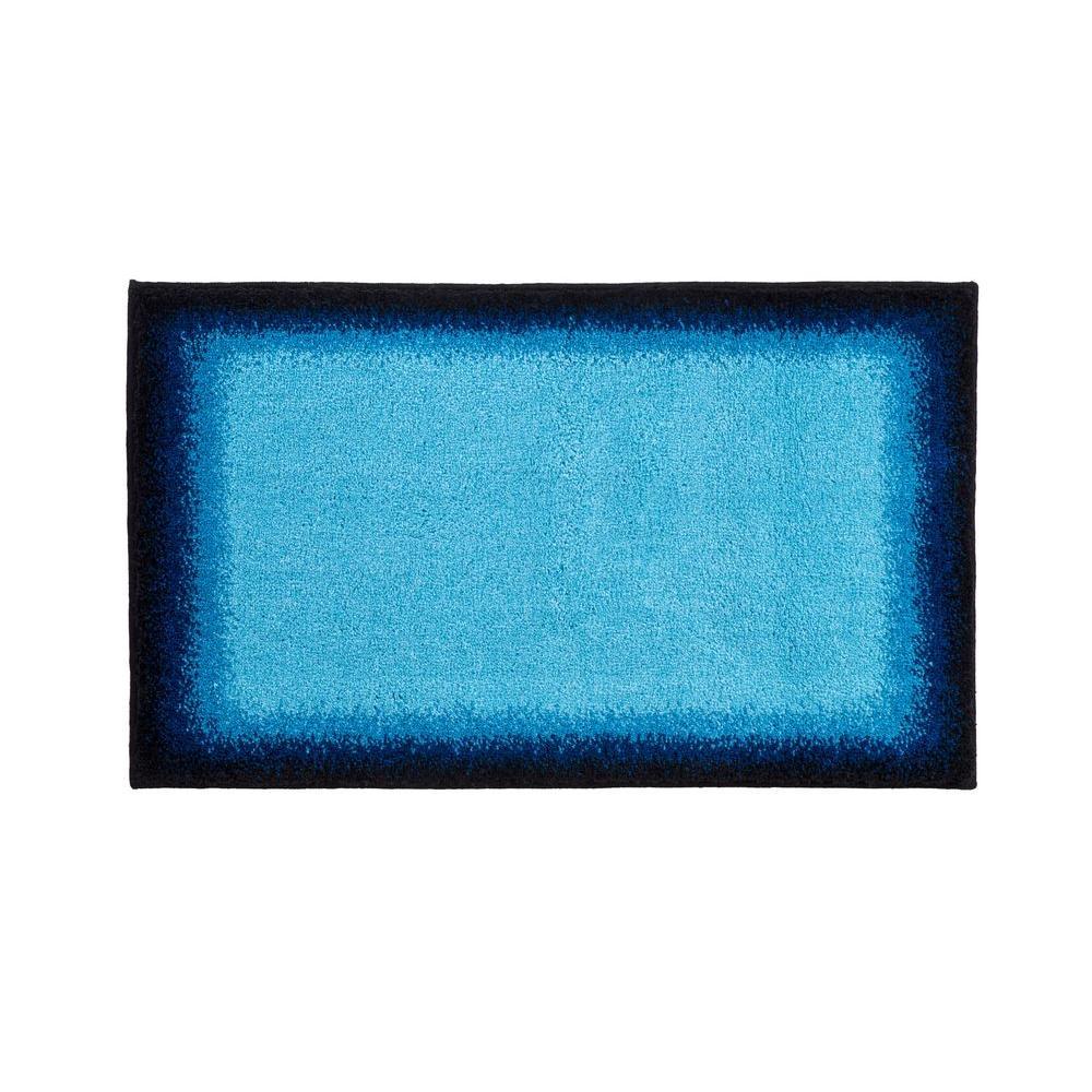 Designer Avalon Blue 21 in. x 34 in. Rug