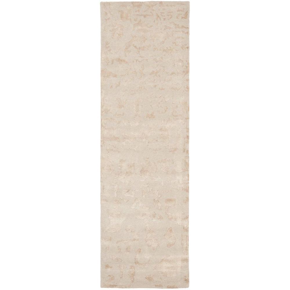 Soho Ivory 2 ft. 6 in. x 8 ft. Rug Runner