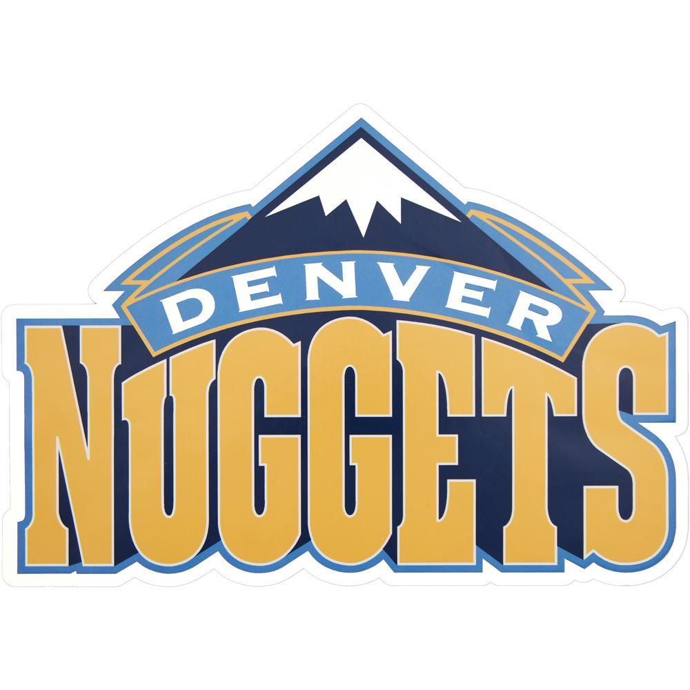 NBA Denver Nuggets Outdoor Logo Graphic- Large