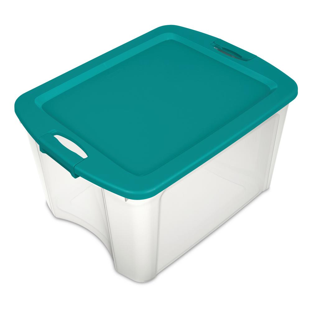 Sterilite 18 Gal. Latch and Carry Storage Tote