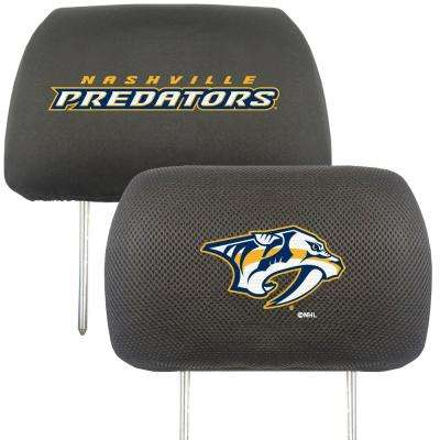 NHL - Nashville Predators Embroidered Head Rest Covers (2-Pack)