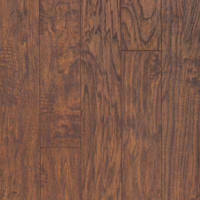 8 mm Hazelnut Hickory Laminate Flooring - 5 in. x 7 in. Take Home Sample