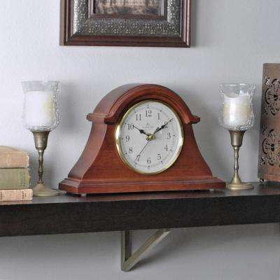 7.5 in. x 12 in. Napoleon Tabletop Clock