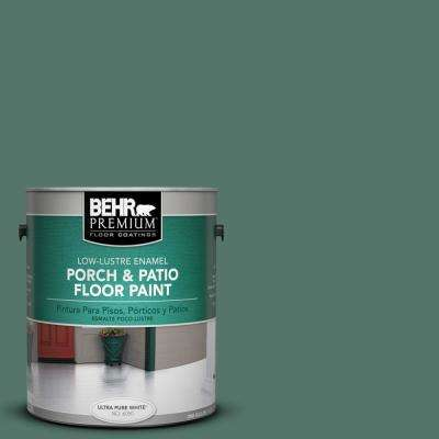 1 gal. #S420-6 Pine Brook Low-Lustre Porch and Patio Floor Paint