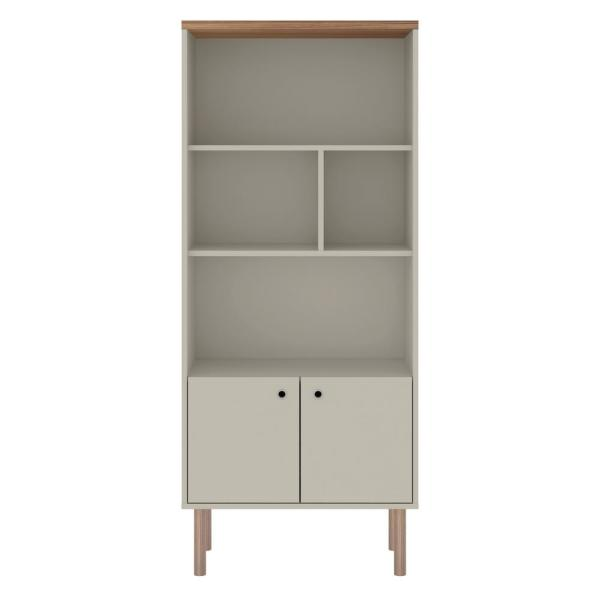 Nature 5 Shelf Modern Display Bookcase