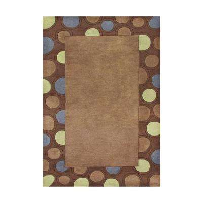 Brown 8 ft. x 10 ft. Handmade Area Rug