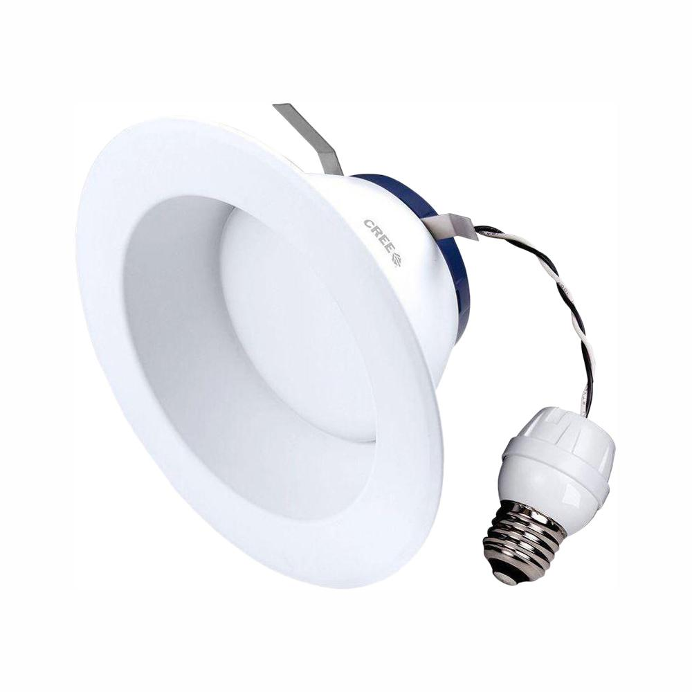 Cree Tw Series 65w Equivalent Soft White 2700k 6 In Dimmable Led Retrofit Recessed Downlight 4 Pack