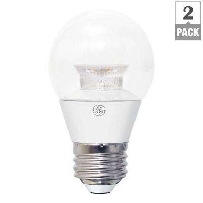 40W Equivalent Daylight (5000K) High Definition A15 Clear Dimmable LED Light Bulb (2-Pack)