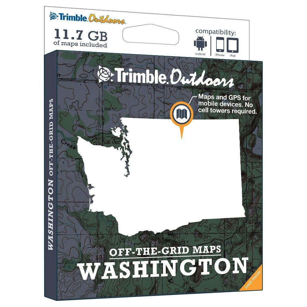 Trimble Outdoors Washington Off-The-Grid Maps