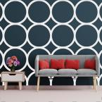 3/8 in. x 23-3/4 in. x 23-3/4 in. Large Beacon White Architectural Grade PVC Decorative Wall Panels