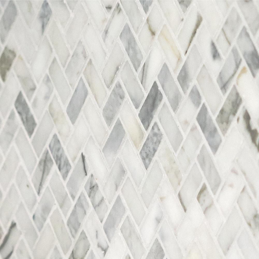 - Daltile Stone Decor Fog 11 In. X 12 In. X 10 Mm Marble Mosaic
