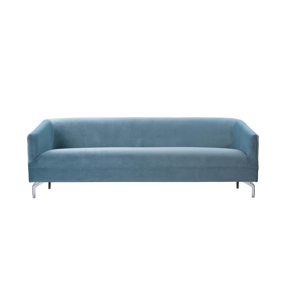 Sandy Wilson Blue Elaine Tight Back Sofa