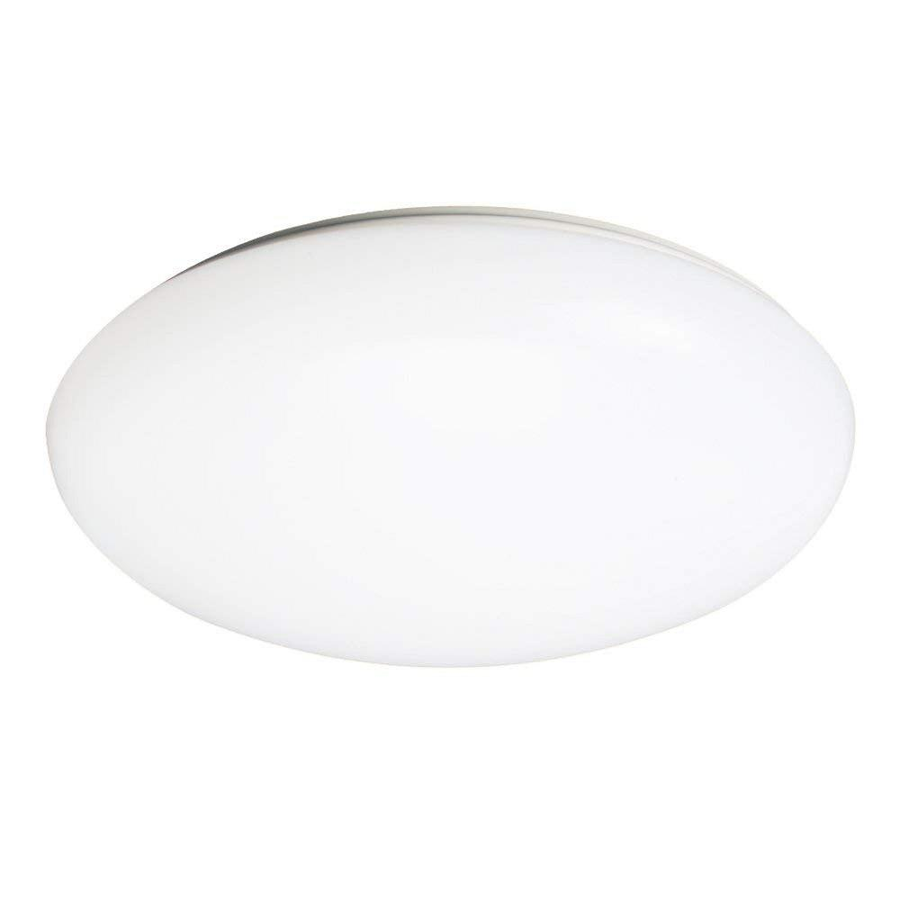 36 Watt White Integrated Led Ceiling Flush Mount Round Puff Light