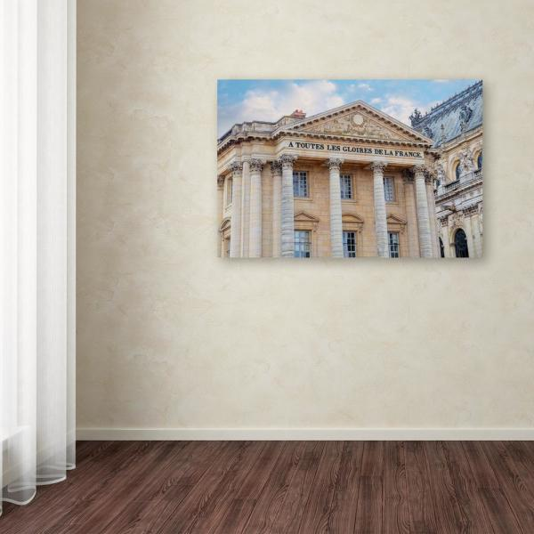 Trademark Fine Art 12 in. x 19 in. ''Palace Of Versailles