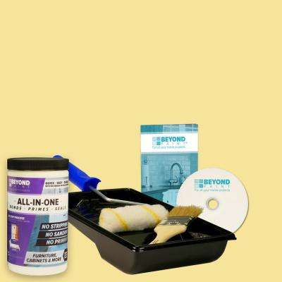 1 qt. Buttercream Furniture, Cabinets and More Multi-Surface All-in-One Refinishing Kit
