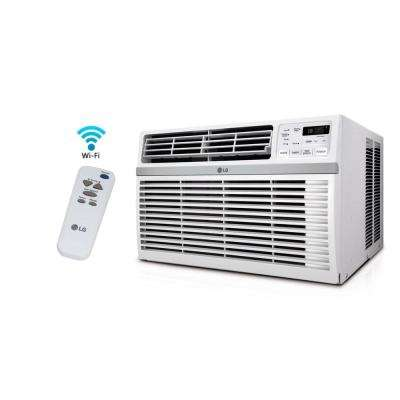12,000 BTU Window Smart (Wi-Fi) Air Conditioner with Remote, ENERGY STAR in White