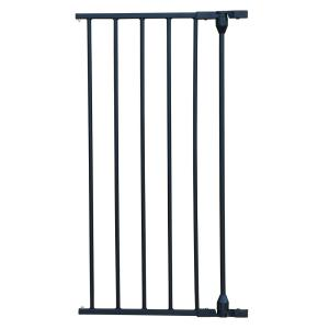 XpandaGate 29.5 in. H x 15 in. W x 2 in. D Extension for Expandable Gate in Black