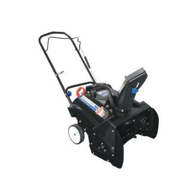 21 in. 163cc Single-Stage Electric Start Gas Snow Blower