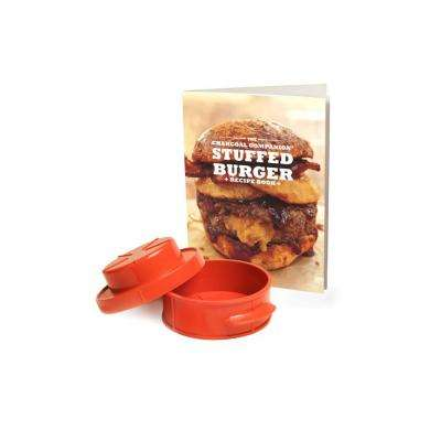 Stuffed Burger Recipe Book and Burger Press