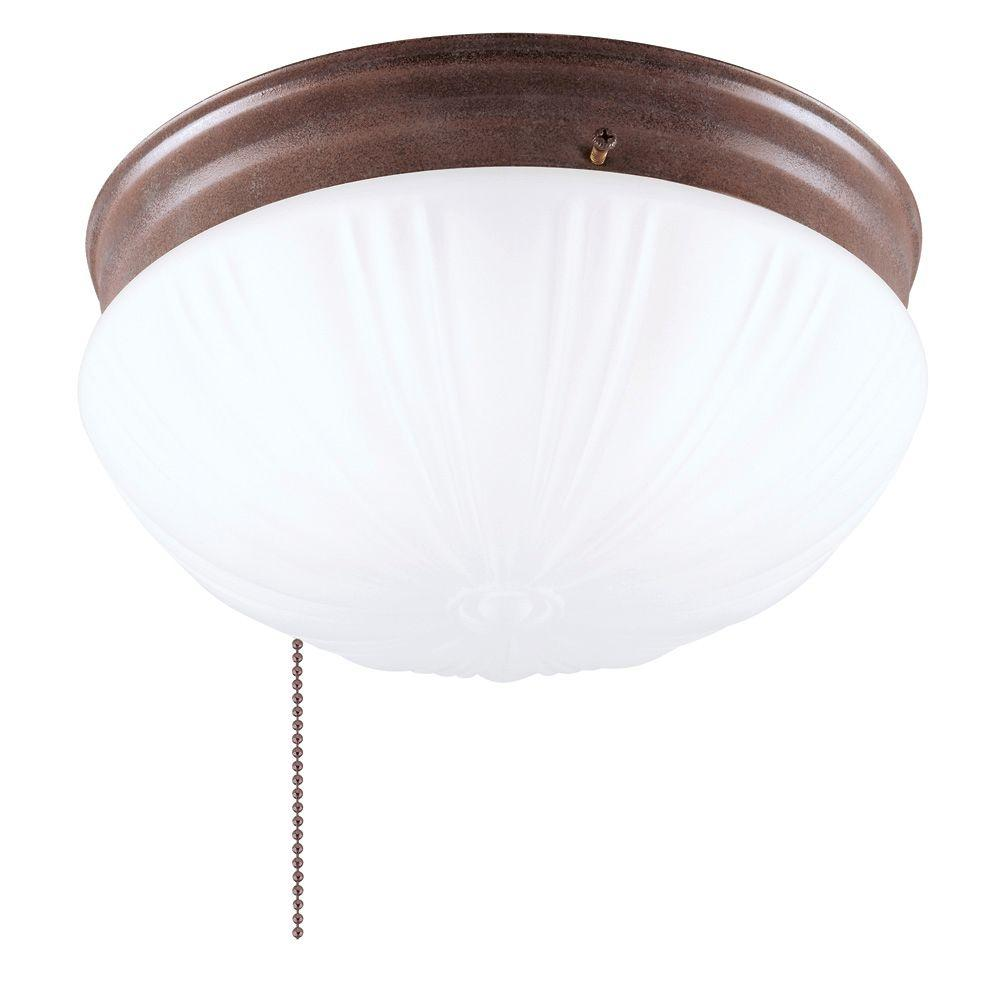 Westinghouse 2 light sienna flush mount