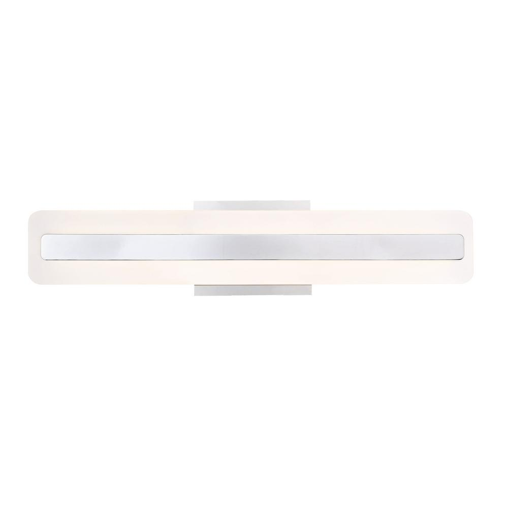 Eurofase Savona Collection 11-Watt Chrome Integrated LED Sconce
