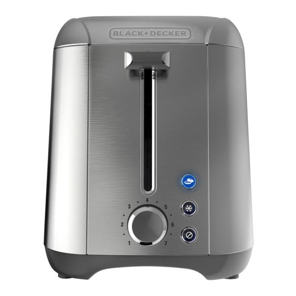 Rapid Toast 2-Slice Stainless Steel Wide Slot Toaster