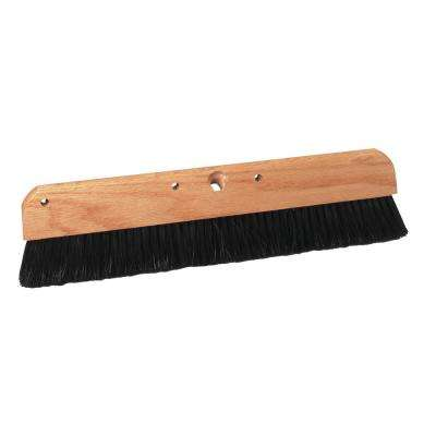 18 in. Coarse Poly Concrete Brush