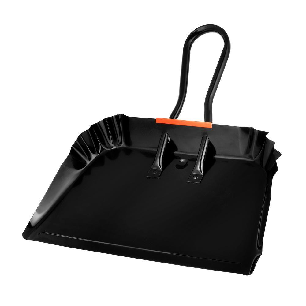 """Black 22/"""" Rubbermaid FG9B6000BLA Jumbo Dust Pan"""