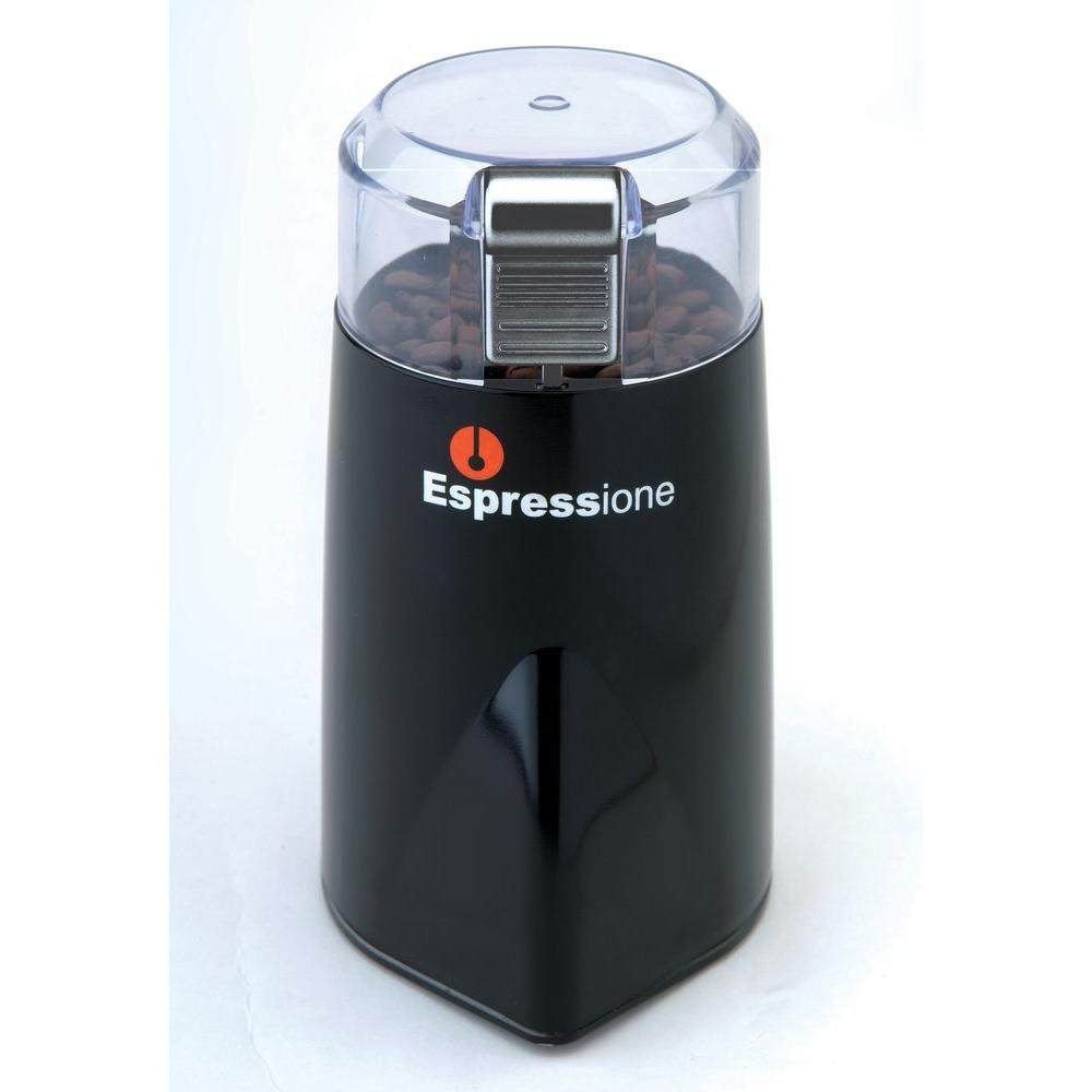 Rapid Touch Locking Lid Coffee Grinder