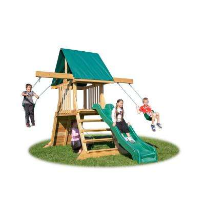 Cliff Climb Pine Wood Playset