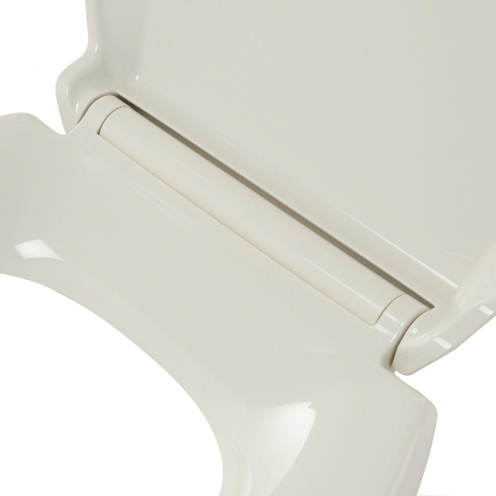 Superb Kohler Grip Tight Cachet Q3 Elongated Closed Front Toilet Seat In Biscuit Pdpeps Interior Chair Design Pdpepsorg