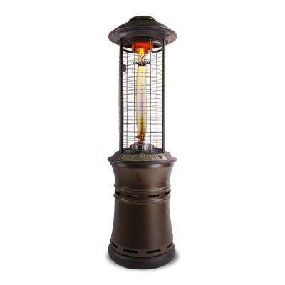 Ember R-Line 36,000 BTU Bronze Collapsible 6 ft. Gas Patio Heater