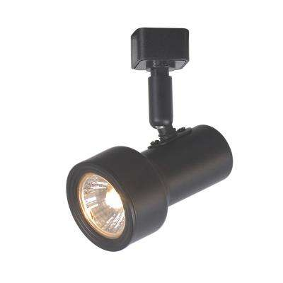 1-Light Black Mini-Step Linear Track Lighting Head