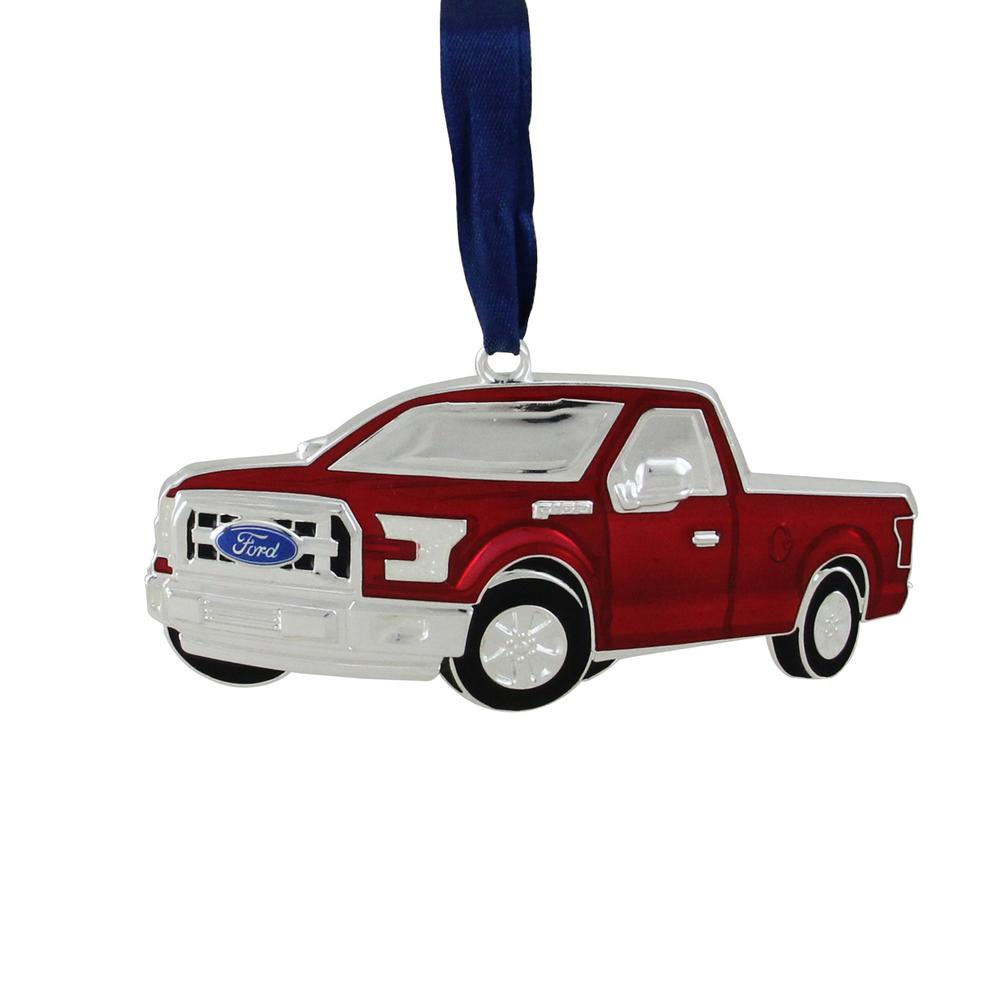 Officially Licensed Red Ford F 150 Pick Up Truck Collectible Silver